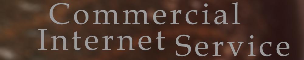 Commercial Internet Service