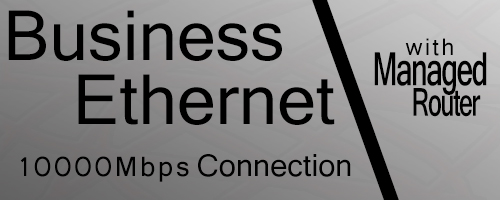 10000Mbps Business Ethernet Connection Router