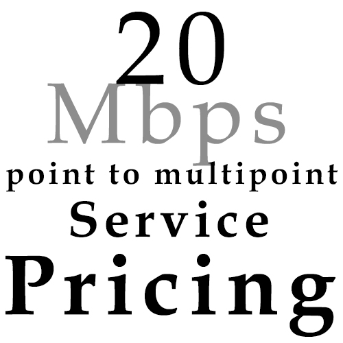 20 Mbps pricing